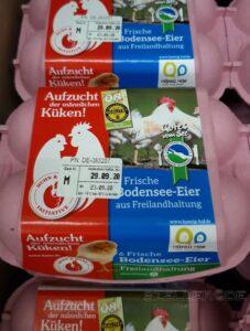 Huhn & Hahn - Eier. Aufzucht der männlichen Küken.